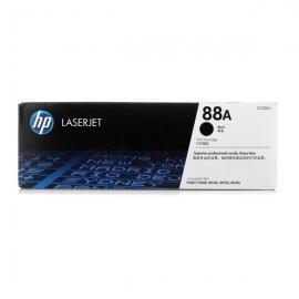 产地日本 进口惠普(HP)CC388A黑色硒鼓 88A(适用 P1007 P1008 P1108 P11) CC388A黑色硒鼓单支