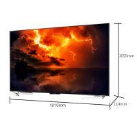 夏普(SHARP) 80英寸 4K 智能液晶 平面电视 LCD-80X818A