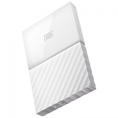 西部数据(WD)2T 2.5英寸移动硬盘WDBS4B0020BWT(闪耀白)