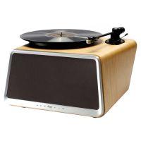 嘿哟(HYM)HYM-Seed 黑胶唱片机 蓝牙智能音响(白橡木色)