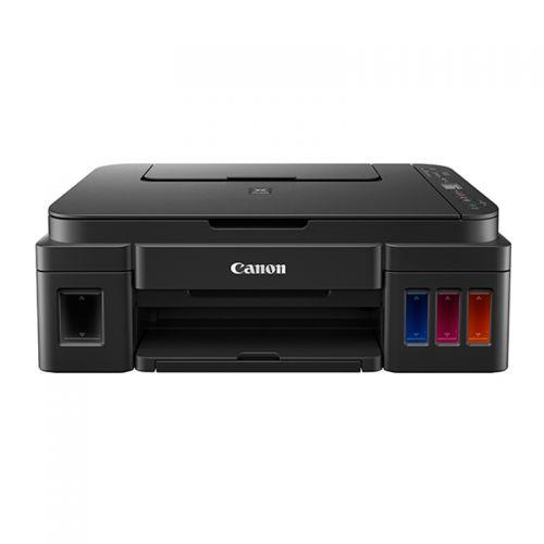 产地越南 进口佳能(Canon) 加墨式高容量无线型一体机 G3810(黑色)