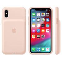 Apple iPhone XS智能电池壳MVQP2CH/A(粉砂色)