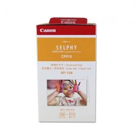 产地日本 进口佳能(Canon)RP-108 6寸相纸色带组合 CP910照片打印机专用相纸 RP-108(108张装)