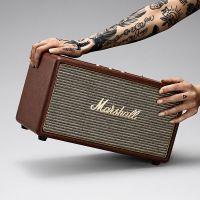 马歇尔(Marshall)摇滚重低音无线蓝牙音箱Stanmore(棕色)