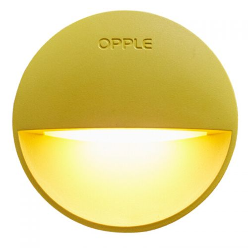欧普(OPPLE)LED光控感应弦月二代小夜灯MW62(黄色)【特价商品,非质量问题不退不换,售完即止】【清仓折扣】