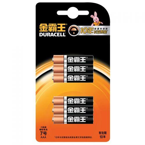 金霸王(Duracell) 7号6粒装电池
