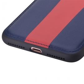 *珂玛(Comma)AMR iPhone 7 Plus奢华系列背壳(蓝红)