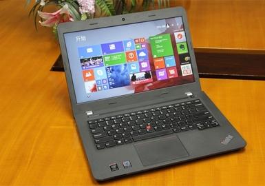 联想(ThinkPad )金属轻薄系列E450(20DCA01HCD)14英寸笔记本 (i5-5200U 4G 500G 2G win8.1)(3件配包鼠)
