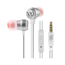 JBL立体声入耳式耳机T280A plus(银)