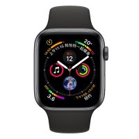 Apple WatchS4 40mm GPS + 蜂窝版 MTVD2CH/A(深空灰+黑色)