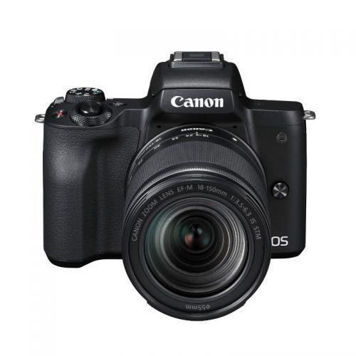 佳能(Canon)EOS M50微单相机(18-150f/3.5-6.3 IS STM(黑色)