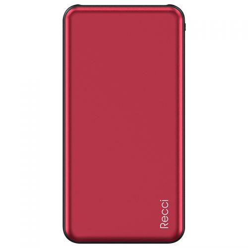锐思(RECCI)迈腾系列 10000mAh移动电源 RP-10000(红色)