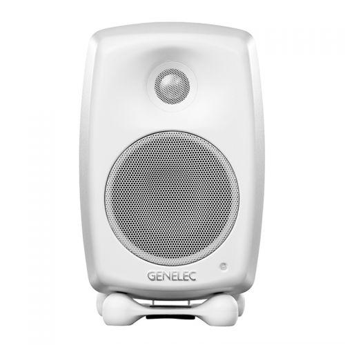 产地芬兰 进口真力(Genelec)G2 4英寸 家用HIFI有源音箱 G2BWM-5(白色)