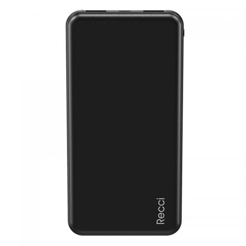 锐思(RECCI)迈腾系列10000毫安时移动电源RP-10000(深邃黑)