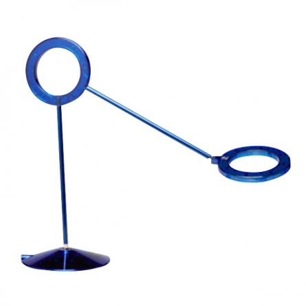 产地韩国 进口拉梦(RAMUN) amuleto LED护眼台灯 AMGT-(BBBB7)(透明蓝色)