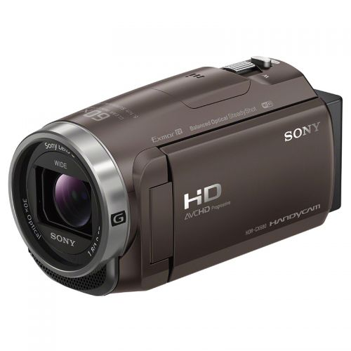 索尼(SONY)高清数码摄像机(棕色)HDR-CX680/TICN1