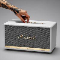 马歇尔(Marshall)Stanmore II 摇滚重低音无线蓝牙音箱(白色)