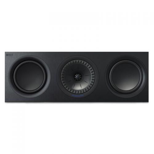 KEF Q650c 中置环绕音响 HIFI扬声器(黑色)