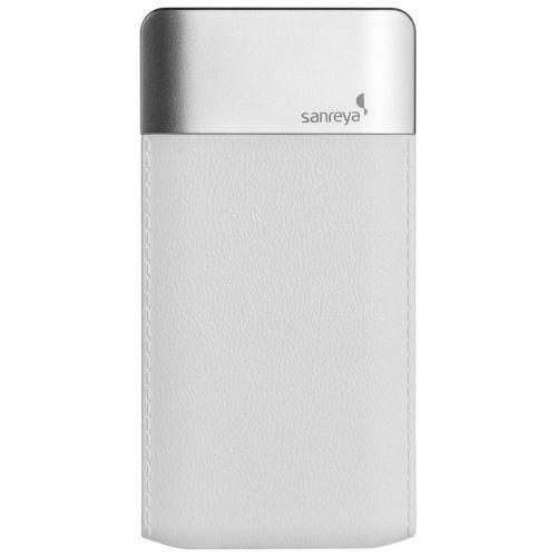 尚睿(SANREYA)轻薄4000mAh移动电源DP661(白色)