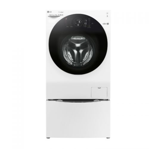 产地韩国 进口LG 14公斤 滚筒洗衣机 WDFH457C0SW (奢华白)