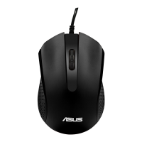 【赠品】华硕(ASUS)AE-01 有线光学鼠标(黑色)