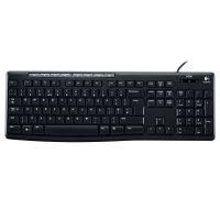 罗技(Logitech)多媒体键盘K200 (黑色)