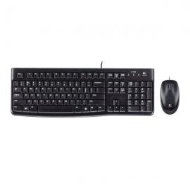 罗技(Logitech)MK120 有线键鼠套装
