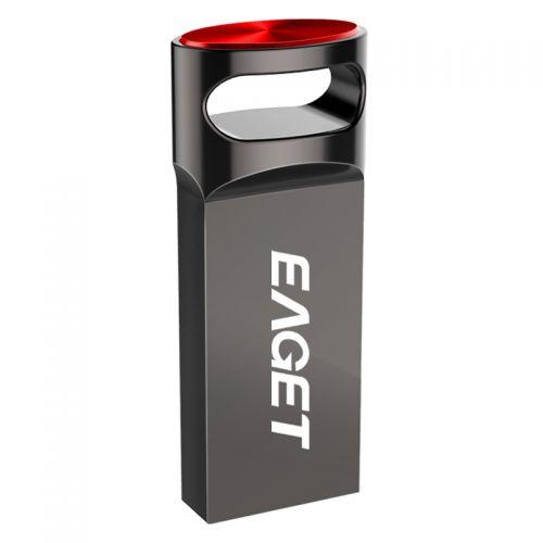 忆捷(EAGET)64GB USB3.0高速U盘 U81(黑色)