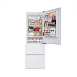 松下(Panasonic )380升 风冷无霜 三门冰箱NR-C380TX-XW (水晶白)