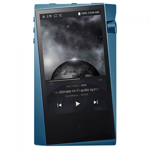 产地韩国 进口艾利和(IRIVER)128G 硬解DSD 便携HIFI音乐播放器 SR15(蓝灰色)