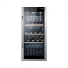卡萨帝(Casarte) 216升 红酒柜  JC-216BPU1 (黑色)【特价商品,非质量问题不退不换,售完即止】【清仓折扣】