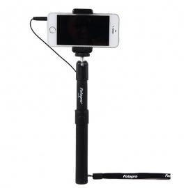 富图宝 线控自拍杆/自拍神器QP-520(黑色)