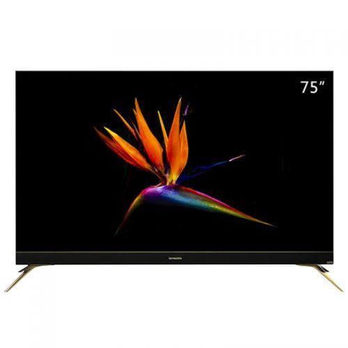 创维(Skyworth)75英寸 智能AI平面电视 75F7(黑色)