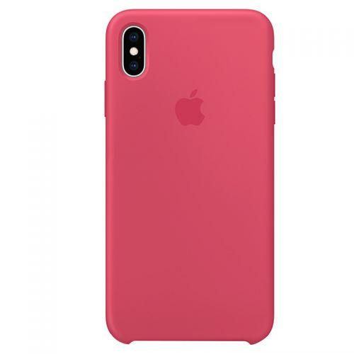 Apple iPhone XS Max 硅胶保护壳 MUJP2FE/A(木槿粉)【特价商品,非质量问题不退不换,售完即止】【清仓折扣】