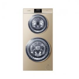卡萨帝(Casarte)12公斤 滚筒洗衣机 C8U12G3(香槟金)