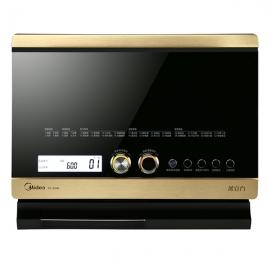 **美的(Midea)32升 蒸汽微波炉蒸烤箱一体机 X7-321B(黑色)