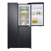 三星(SAMSUNG) 642升 金属匀冷 风冷无霜 大容量对开门冰箱 RS63R5597B4/SC(浩瀚黑)