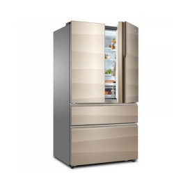卡萨帝(Casarte)728升 1级能效 四门冰箱 BCD-728WDCA(香槟金)