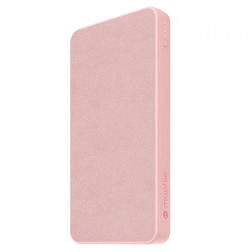 摩尔菲(mophie)10000毫安时织物面移动电源powerstation(粉色)
