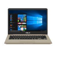 *华硕(ASUS)灵耀S 14英寸轻薄笔记本电脑(I5-8250U 8GB 256SSD) S4000VA8250-0C8AXYQJX20(金色)
