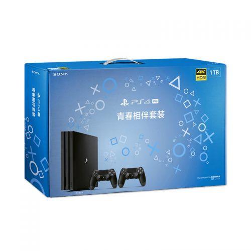 索尼(SONY) PlayStation PS4 Pro 1TB 青春相伴套装(黑色)CUHS-P-2042