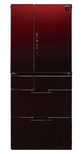 夏普(Sharp) 470升 日本原装进口 六门冰箱