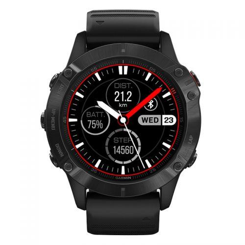 【现货好价】佳明(GARMIN)Fenix6 Pro 户外GPS运动腕表防水智能手表中文版(黑色)
