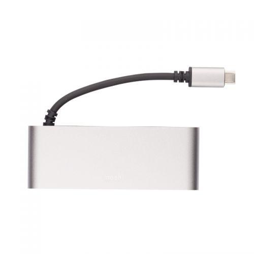摩仕(Moshi)多媒体转换器USB-C Multimedia(钛灰) 【特价商品,非质量问题不退不换,售完即止】【清仓折扣】