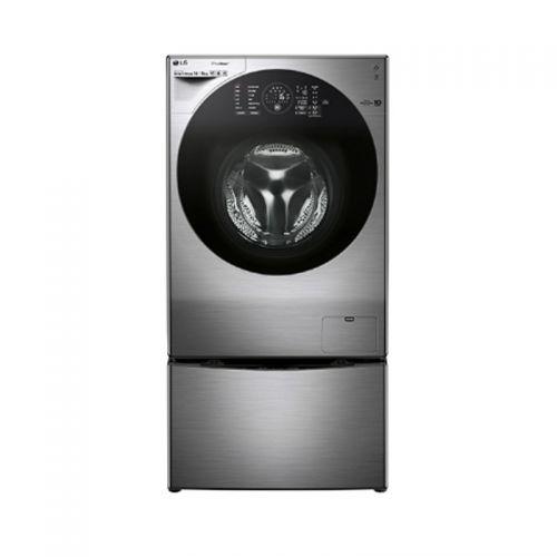 产地韩国 进口LG 14公斤 带烘干 滚筒洗衣机 WDRH657C7HW(碳晶银)