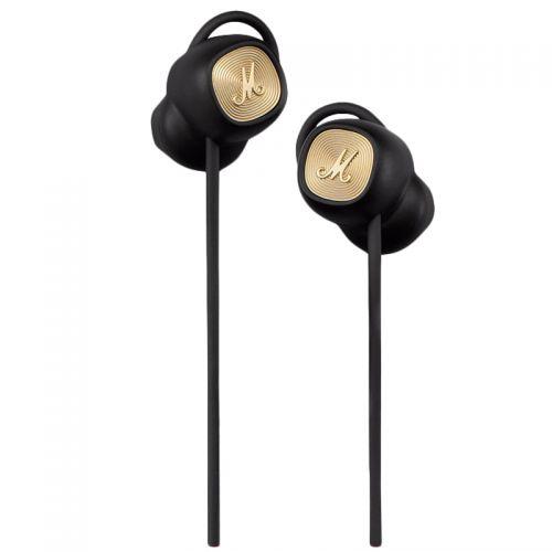 马歇尔(Marshall)无线蓝牙半入耳式耳机 Minor II(黑色)