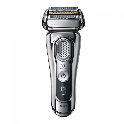 产地德国 进口博朗(BRAUN)9系自动清洁 电动剃须刀9390cc(银色)