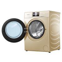 卡萨帝(Casarte)10公斤 带烘干滚筒洗衣机 C1 HD10G3LU1(香槟金)