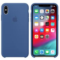 Apple iPhone XS 硅胶保护壳MVF12FE/A(瓷蓝色)