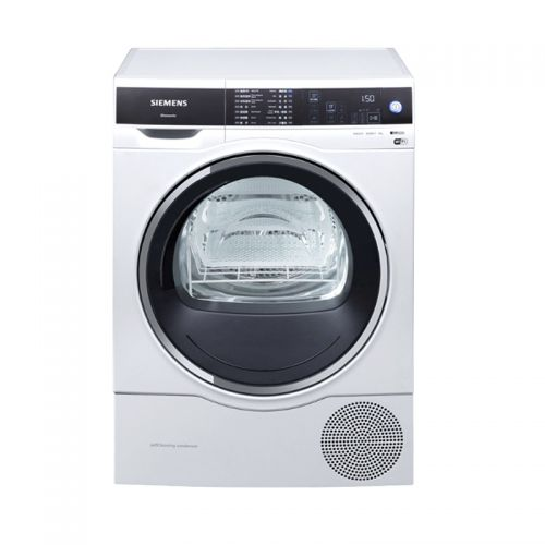 产地波兰 进口西门子(SIEMENS)9公斤热泵式干衣机 WT47U6H00W(白色)